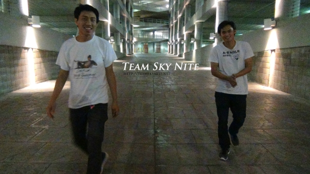 Dj Knite X and Tinh representing Team Sky Nite